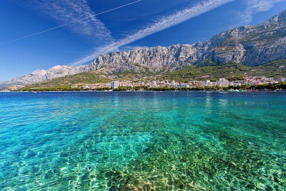 Makarska sea view